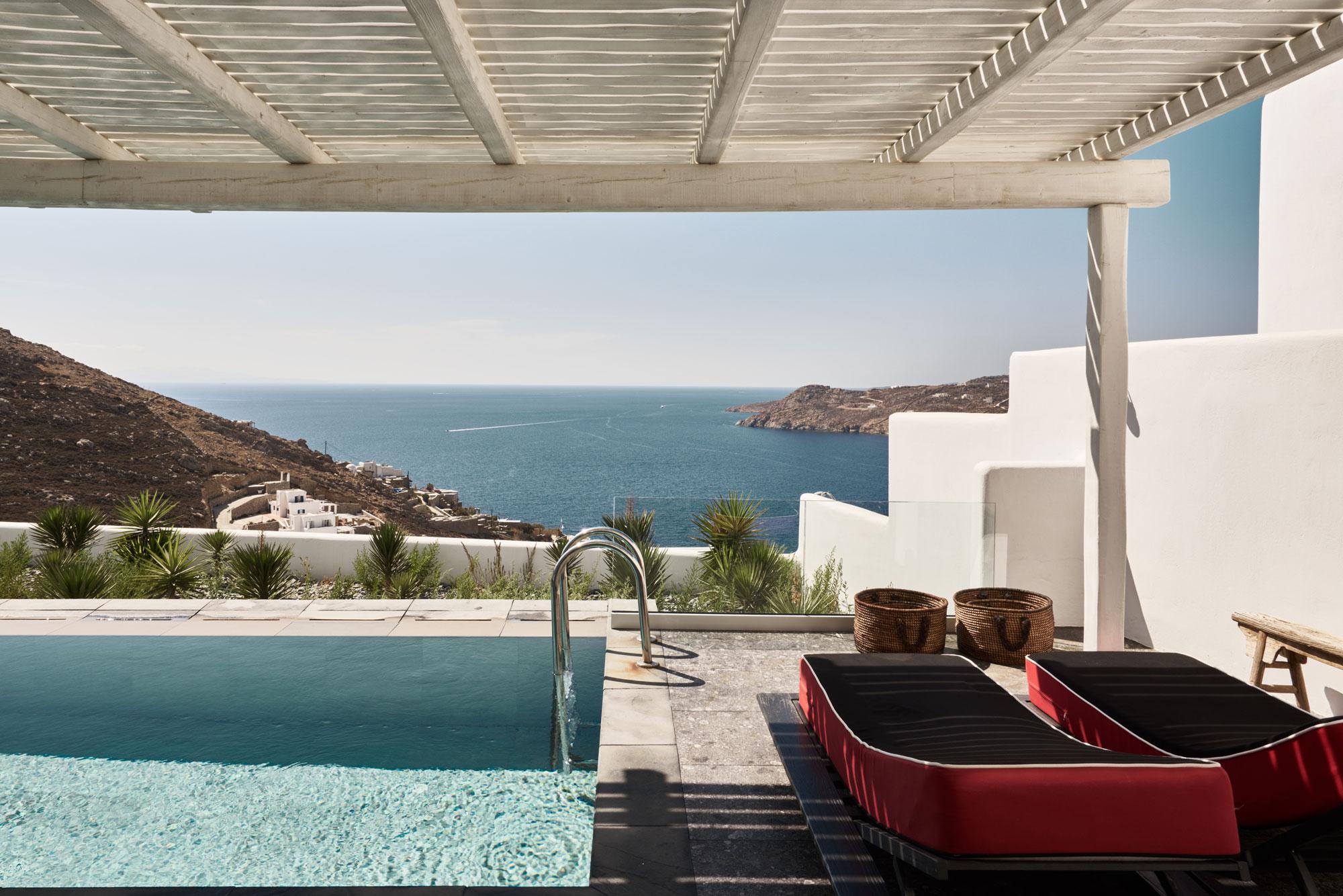 Top Design Hotels Mykonos Of Inside Mykonos 39 Newest Hotel Vontuura