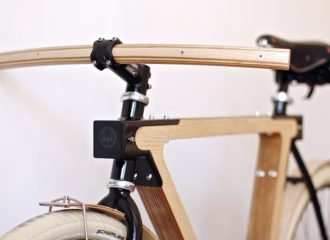 WOOD.b Handmade Wooden Bike by BSG BIKES