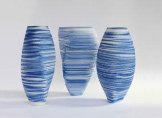 Blue and White by Olivier van Herpt