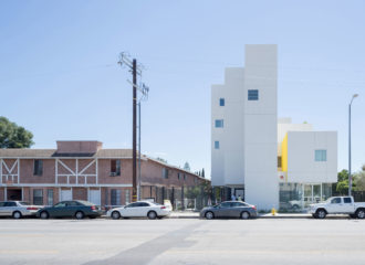 Crest Apartments by Michael Maltzan Architecture