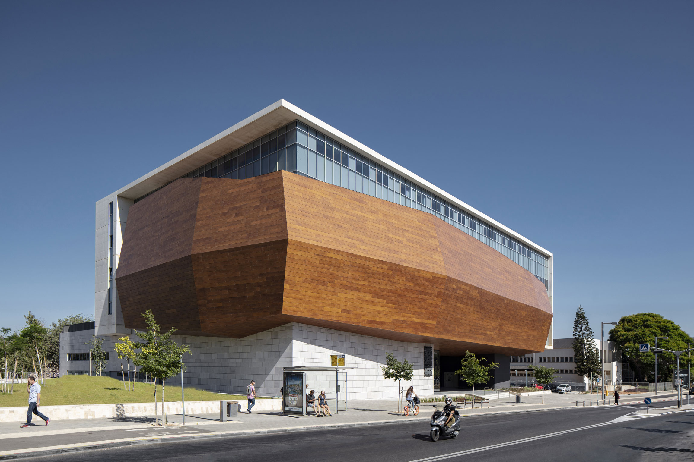 The Steinhardt Museum Of Natural History By Kimmel Eshkolot Architects