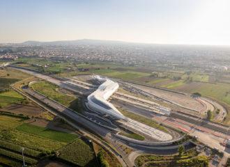 Napoli Afragola Station by Zaha Hadid Architects