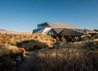 Shapeshifter House in Nevada by OPA