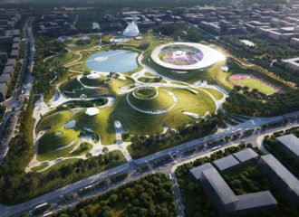 Quzhou Sports Campus by MAD Architects