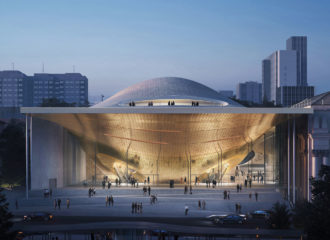Sverdlovsk Philharmonic Concert Hall by Zaha Hadid Architects