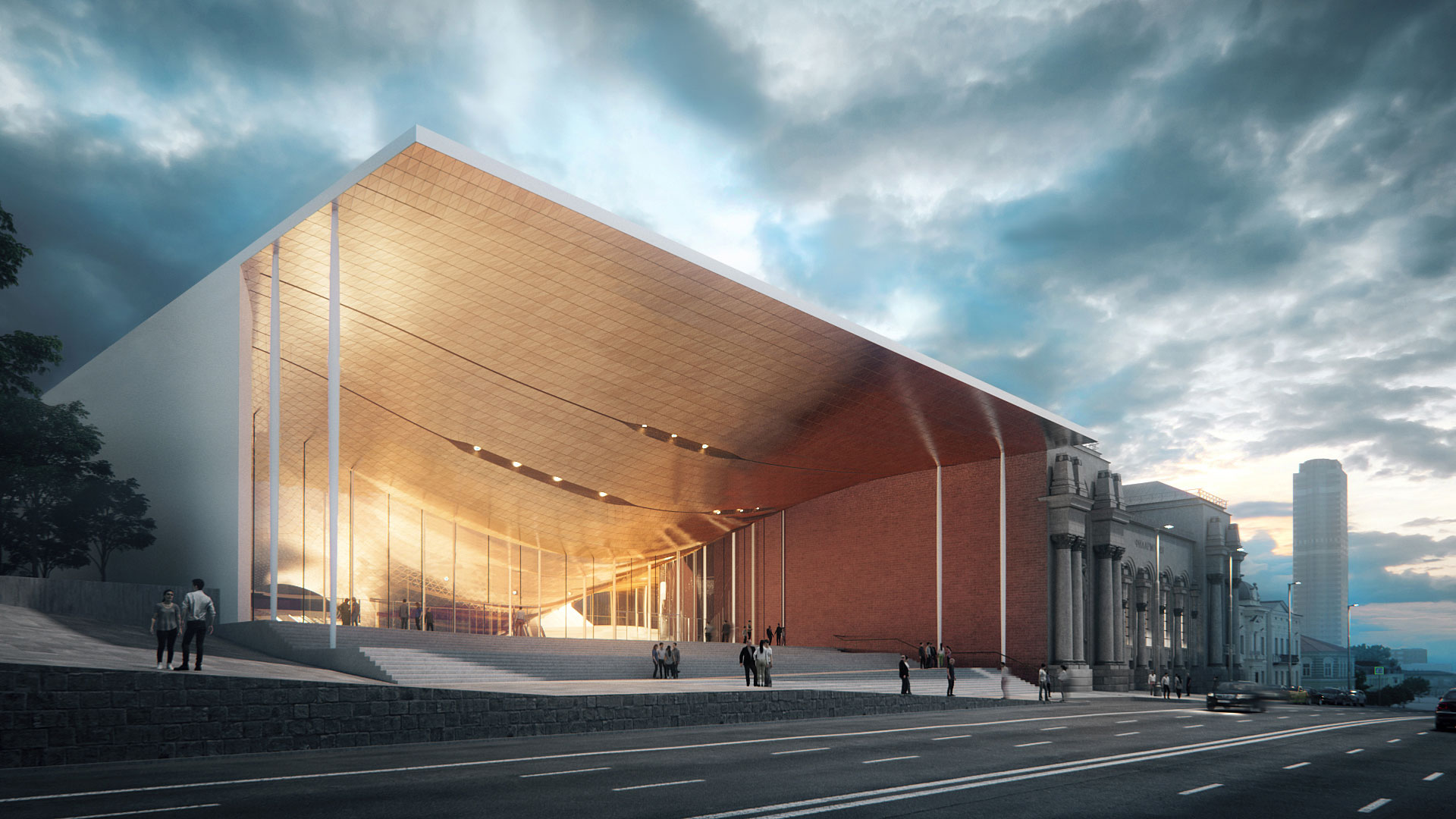 Russian Towns, Cities / Urban Development - Page 6 03_ZHA_Sverdlovsk-Philharmonic-Concert-Hall_Render-by-VA