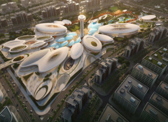 Aljada Central Hub by Zaha Hadid Architects