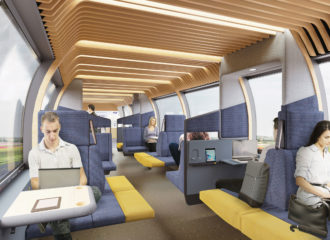 Mecanoo and Gispen Invision NS Train of the Future