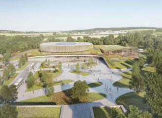 Mondorf-les-Bains Velodrome by Mecanoo and Metaform