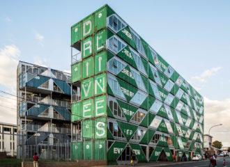 Drivelines Studios in Johannesburg by LOT-EK