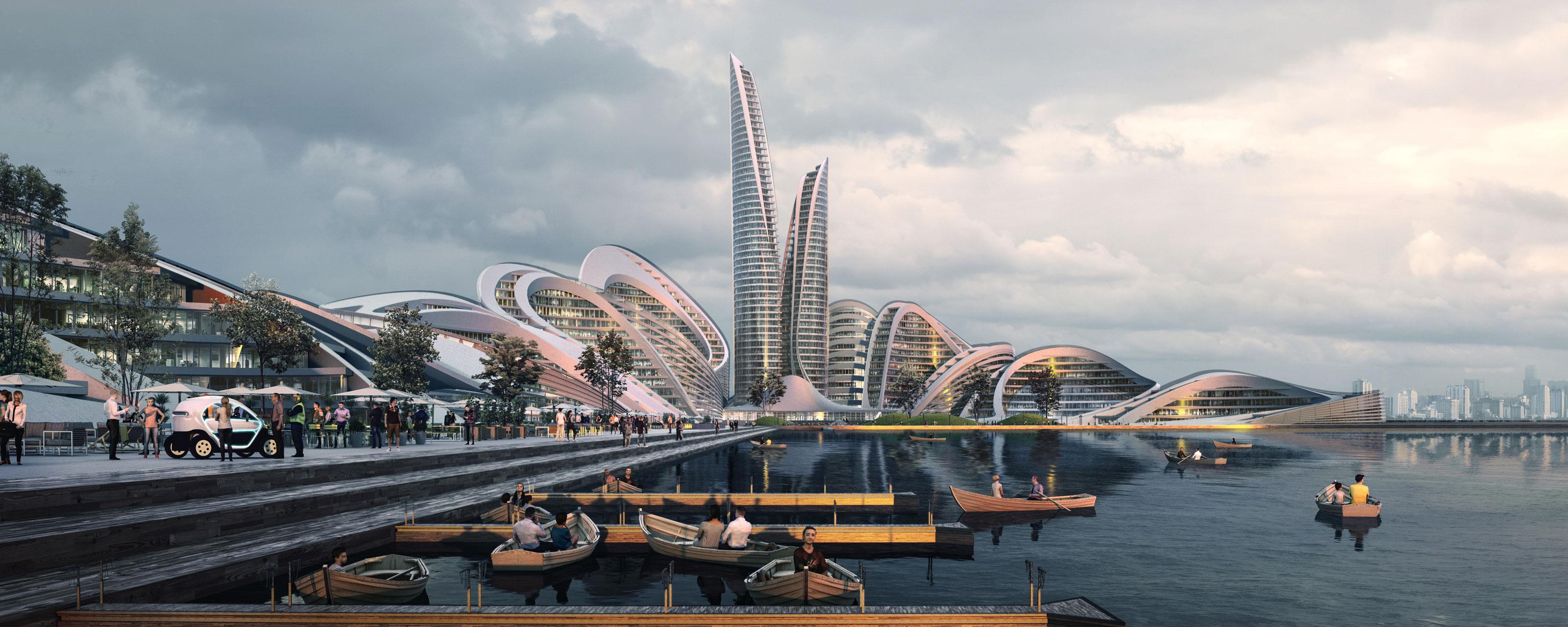 Rublyovo Arkhangelskoye By Zaha Hadid Architects åvontuura