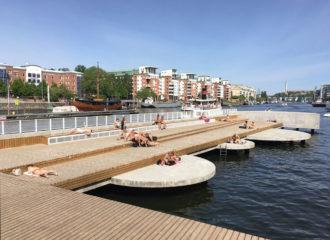 The Fredriksdal Quay by Nivå Landskapsarkitektur