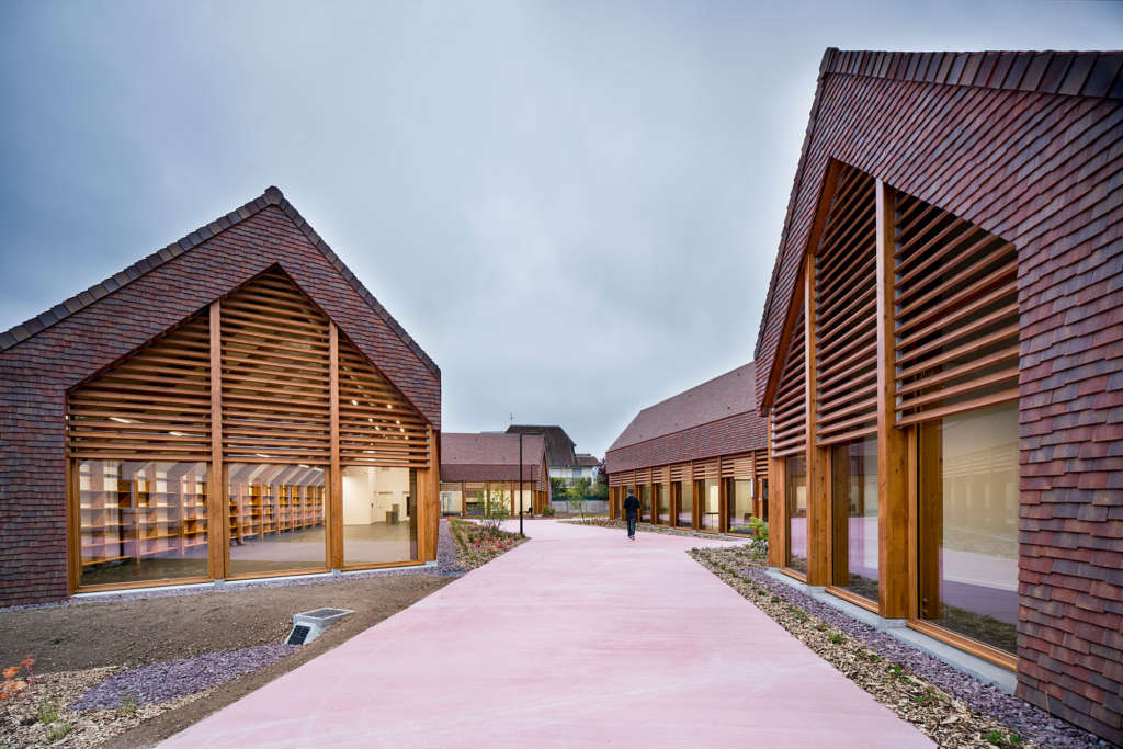 Community Centre In France Is Inspired By Typical Normandy Farmhouse Avontuura